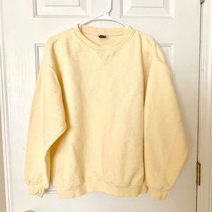 Vintage Yellow Crewneck